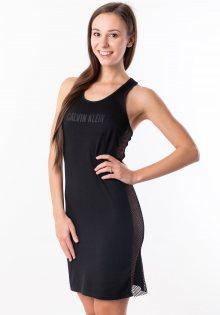 Dámské šaty Cavlin Klein KW0KW00711 M Černá