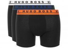 Boxerky 3 ks BOSS Hugo Boss   Černá   Pánské   L