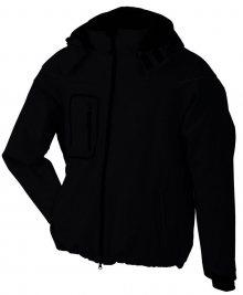Zimní pánská softshellová bunda JN1000 - Černá | L