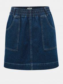 Modrá džínová minisukně Miss Selfridge