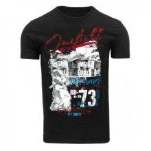 Pánské tričko s potiskem (triko) černé