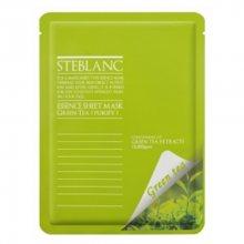 Steblanc Essence Sheet Mask Green Tea čisticí a zklidňující pleťová maska (Containing of Green Tea Extracts) 20 g