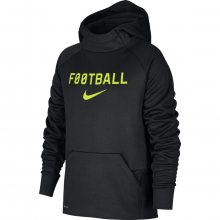 Nike B Thrma Hoodie Ftbl černá 146