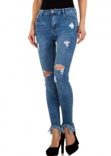 Dámské jeansové kalhoty Laulia