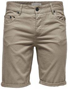 ONLY&SONS Pánské kraťasy Ply Colored Shorts Sa 9920 Fallen Rock 33
