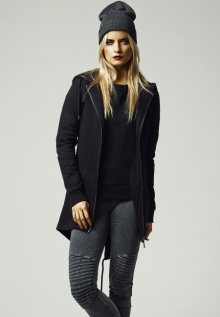 Urban Classics Ladies Sweat Parka black - L