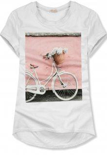 Bílé tričko s motivem