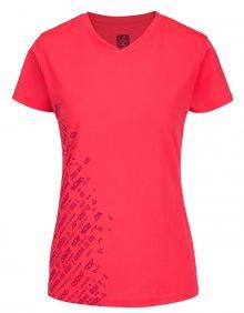 LOAP Dámské triko Mesu Diva Pink OLW1812-J77J L