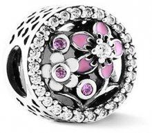 Infinity Love Romantický stříbrný korálek HSZ-1157-D