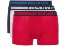 Boxerky 3 ks Tommy Hilfiger | Modrá Červená Bílá | Pánské | S