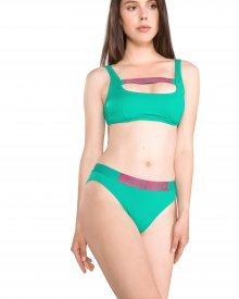 Spodní díl plavek Calvin Klein   Zelená   Dámské   L