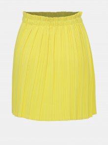 Žlutá plisovaná sukně Haily´s Lana