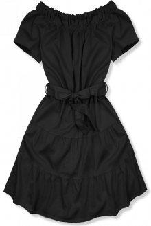 Černé letní šaty