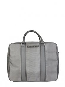 Trussardi Jeans Pánská cestovní taška 71B985T_ANTRACITE