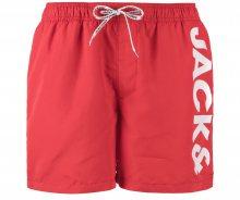 Cali Plavky Jack & Jones | Červená | Pánské | L