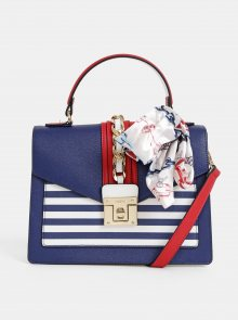 Modrá crossbody kabelka s šátkem ALDO