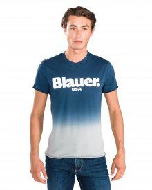 Shaded Triko Blauer | Modrá | Pánské | M