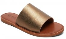 Roxy Dámské pantofle Kaia Bronze ARJL200654-BRO 38