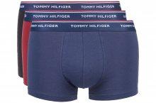 Boxerky 3 ks Tommy Hilfiger | Černá Modrá Červená | Pánské | S