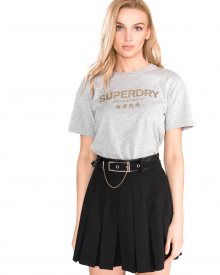 Triko SuperDry | Šedá | Dámské | XS