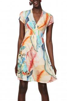 Desigual barevné šaty Vest Luana - S