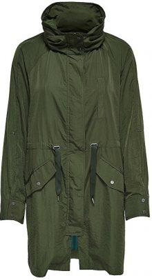 ONLY Dámská bunda Thunder Long Oversized Shell Coat Otw Rifle Green M
