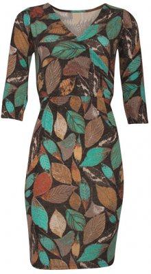 Smashed Lemon Dámské šaty Brown/Multicolor 18739 S