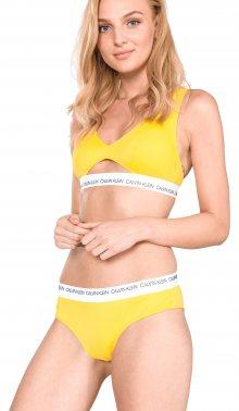 Spodní díl plavek Calvin Klein | Žlutá | Dámské | L