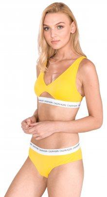 High Apex Vrchní díl plavek Calvin Klein | Žlutá | Dámské | L