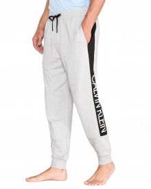 Kalhoty na spaní Calvin Klein   Šedá   Pánské   S