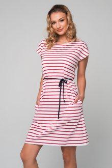 Šaty Pleas 166830 - barva:PLE500/červená, velikost:L