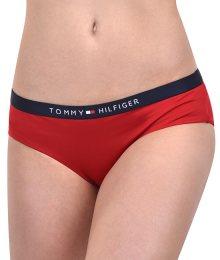 Tommy Hilfiger Plavkové kalhotky Hipster LR Tango Red UW0UW00631-611 XS