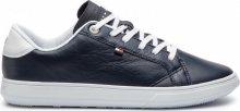 Tommy Hilfiger Pánské tenisky Essential Leather Icon Logo Sneaker FM0FM01987-403 42
