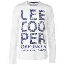 Pánské módní tričko s dlouhým rukávem Lee Cooper