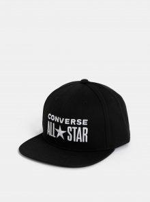 Černá kšiltovka s výšivkou Converse