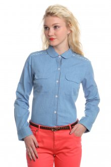 Brakeburn Dámská košile BBLSHT00633_ss15 modrá\n\n