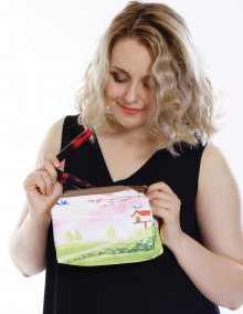 Kosmetická taška s potiskem