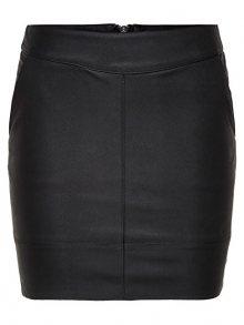 ONLY Dámská sukně Base Faux Leather Skirt OTW Noos 36