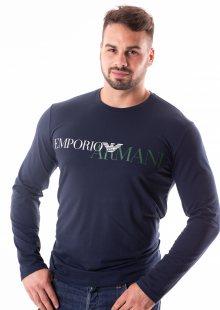 Pánské tričko Emporio Armani 111653 8A516 M Tm. modrá
