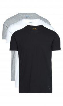 Spodní triko 3 ks Polo Ralph Lauren | Černá Bílá Šedá | Pánské | L