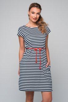Šaty Pleas 166830 - barva:PLE800/modrá, velikost:M