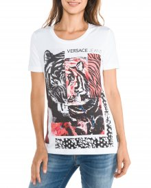 Triko Versace Jeans   Bílá   Dámské   L