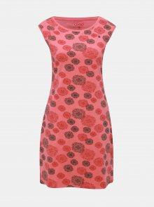 Korálové květované šaty LOAP Adenka