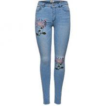 ONLY Dámské džíny Carmen Reg Sk Emb Dnm Jeans Bj8908 \