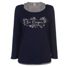 Dámské tričko s dlouhým rukávem Lee Cooper