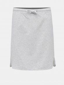 Světle šedá žíhaná sukně LOAP Nirvana