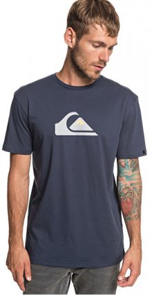 Quiksilver Pánské triko M And W Ss Tee Blue Nights EQYZT05262-BST0 M