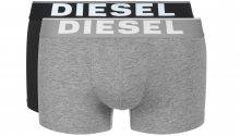 Boxerky 2 ks Diesel | Černá Šedá | Pánské | S