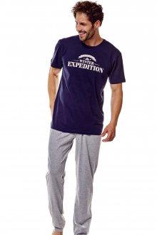 Pánské pyžamo 36206 Fiord 59x blue