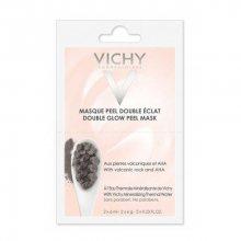Vichy Minerální rozjasňující pleťová peelingová maska (Double Glow Peel Mask) 2 x 6 ml